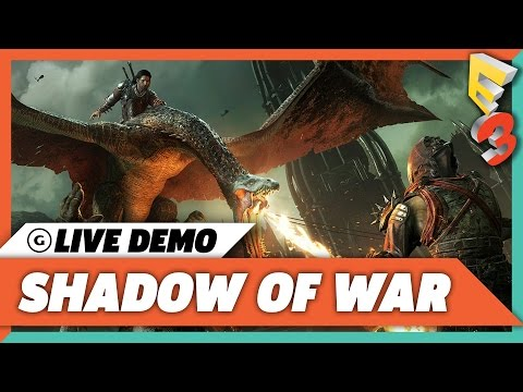 Shadow of War - 30 Minutes of Fortress Assault Live Demo Gameplay - E3 2017 - UCbu2SsF-Or3Rsn3NxqODImw