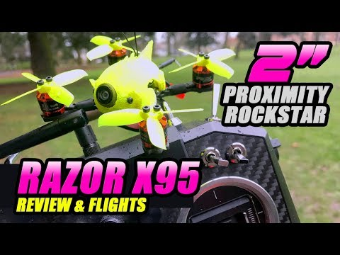 2S RIPPER! - iFlight Razor X95 Micro Brushless Quad - Review, Flights, Pros & Cons - UCwojJxGQ0SNeVV09mKlnonA