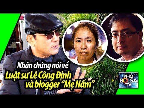 Nhân chứng ở quận Cam nói về ls Lê Công Định và blogger