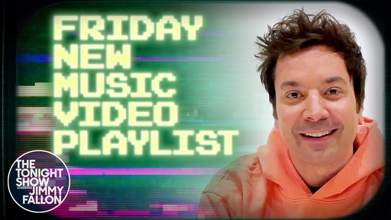 Jimmy Fallon's Friday New Music Video Playlist: BTS, Taylor Swift, Demi Lovato | The Tonight Show