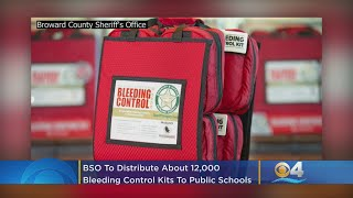 BSO To Distribute About 12,000 Bleeding Control Kits To All Public Schools