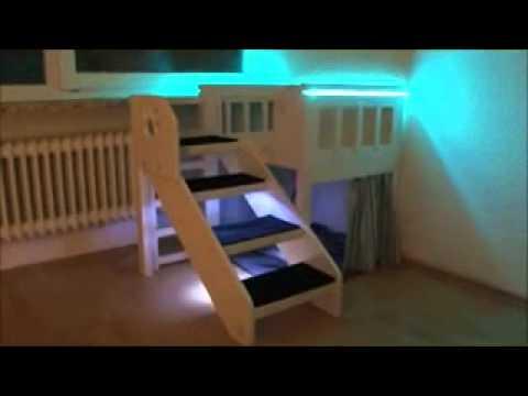 innenbalkon hochbett. Black Bedroom Furniture Sets. Home Design Ideas
