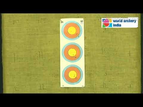 Komolika Bari vs Susmita Biruly - RW Final | Indian Open Indoor Archery Tournament - 2018