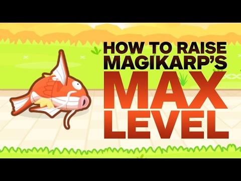 Pokemon Magikarp Jump: How to Raise Magikarp's Max Level - default