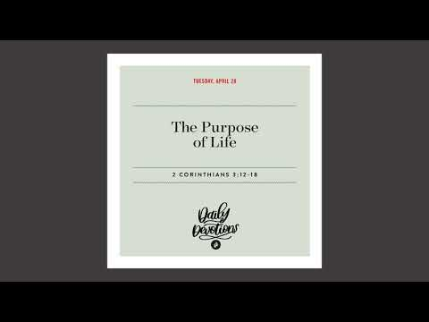 The Purpose of Life - Daily Devotional