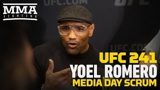 UFC 241: Yoel Romero Shuts Down Potential Matchup with Jon Jones: 'Forget About it'