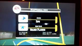NCAA Football 2004 Akron Zips and Kent State Golden Flashes Intro