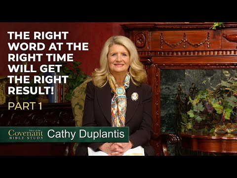 Voice of the Covenant Bible Study, May 2020 Week 1 Cathy Duplantis
