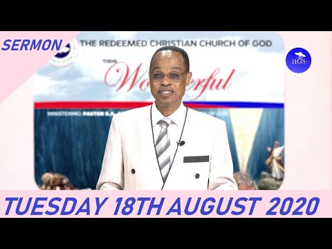 PASTOR J.F ODESOLA SERMON  RECOVER, RECLAIM AND REDEEM YOUR TIME