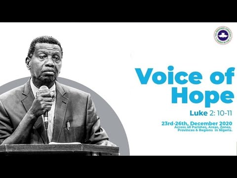 PASTOR E.A ADEBOYE SERMON - VOICE OF HOPE - OKITIPUPA/SAPELE/ BENIN