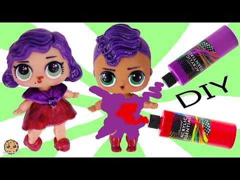 DIY LOL Surprise Boy Peanut Butter & Jelly Brother Doll Craft Makeover Painting Video 2 - UCelMeixAOTs2OQAAi9wU8-g