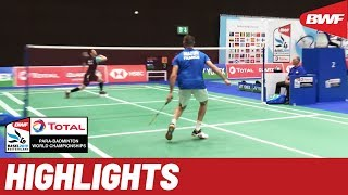 Total BWF Para-Badminton World Championships 2019. Day four, afternoon standing highlights
