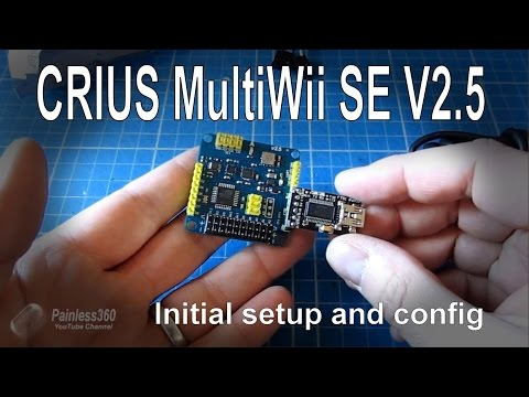 (1/7) CRIUS MultiWii SE V2.5 Board - Initial setup and configuration - UCp1vASX-fg959vRc1xowqpw
