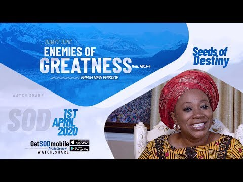 Dr Becky Paul-Enenche - SEEDS OF DESTINY  WEDNESDAY APRIL 1, 2020
