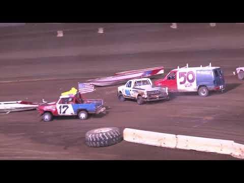 PERRIS AUTO SPEEDWAY Democross Main Event 9-11-21 - dirt track racing video image