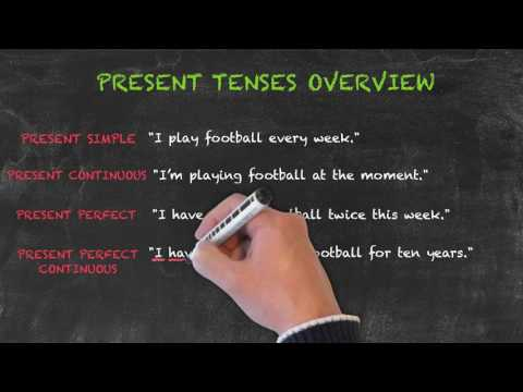 Overview of All English Tenses - Present Tenses Overview - Present Perfect