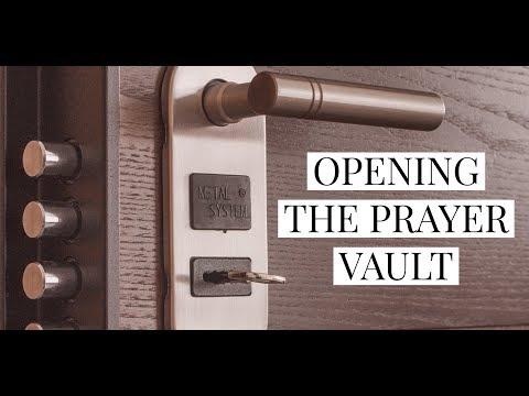 I'm Opening My Enter Prayer Vault  Prayer Mentoring  School of Intercession