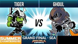 Tiger vs Ghoul - Grand Final - Summer Championship 1v1 SEA