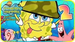 SpongeBob Battle for Bikini Bottom Walkthrough Part 2 (PS2) Jellyfish Caves + BOSS ᴴᴰ