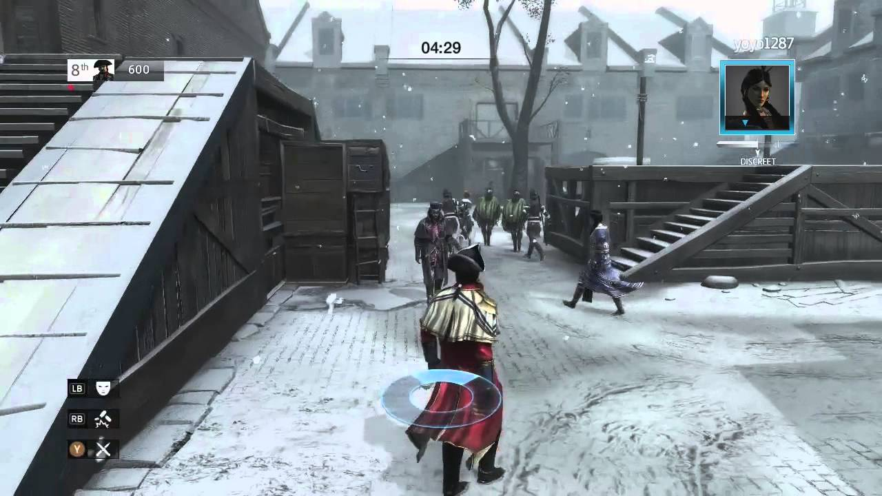 Assassin S Creed 3 Multiplayer Gameplay Live Online Free For All