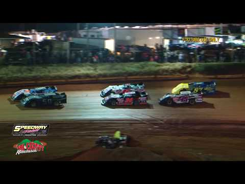 Tri County Racetrack March 16, 2018 - dirt track racing video image