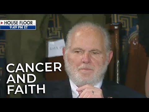 Rush Limbaugh: His Cancer and Faith in God