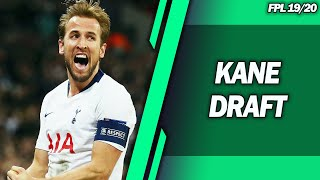 FPL DRAFT TEAM WITH KANE, SALAH & STERLING! - FPL 2019/20