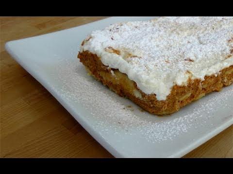 Pumpkin Tiramisu Recipe - By Laura Vitale - Laura in the Kitchen Episode 81 - UCNbngWUqL2eqRw12yAwcICg
