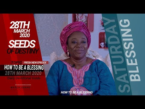 Dr Becky Paul-Enenche - SATURDAY, 28TH MARCH, 2020