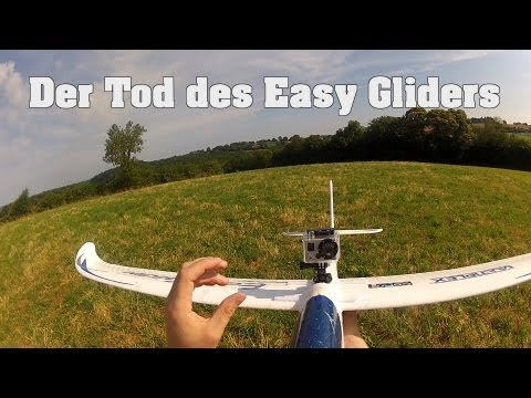 Der Tod des MPX Easy Gliders,  The death of the RC glider- die MX 16 hat gesponnen! - UCNWVhopT5VjgRdDspxW2IYQ