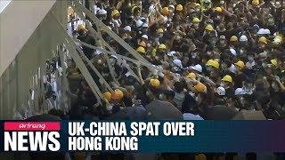 Escalating diplomatic spat between UK and China over Hong Kong