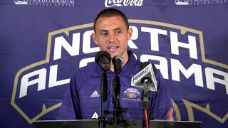 2019 North Alabama Media Day   Cross Country Head Coach Jeremy Provence