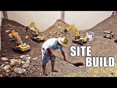 Building an RC Excavator WORK SITE - UCVQWy-DTLpRqnuA17WZkjRQ