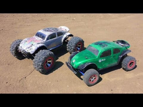 RC ADVENTURES - Traxxas Summit, Traxxas Slash, Buggies, 4x4 Electric vs Nitro! - UCxcjVHL-2o3D6Q9esu05a1Q