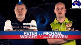 2019 Melbourne Darts Masters Semi Final  Wright vs van Gerwen