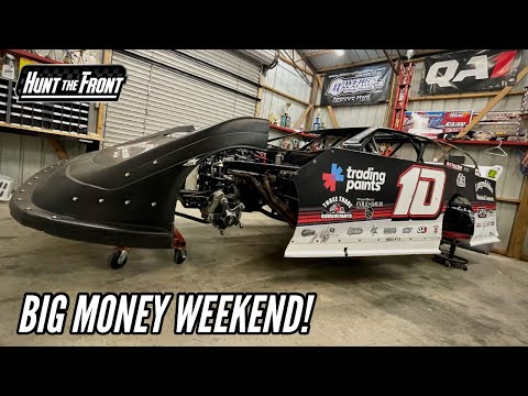 Chasing a Fuel Leak and $50,000! Getting Ready for the Super Bee 100 - dirt track racing video image