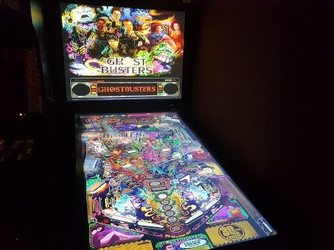 Ghostbusters LE Visual Pinball X in 4 K VPX Table - VidVui