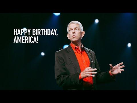 David Barton  Happy Birthday, America!  Stand Alone