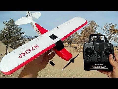 Volantex Sport Cub 761-4 Stabilized 4 Channel Trainer Airplane Flight Test Review - UC90A4JdsSoFm1Okfu0DHTuQ