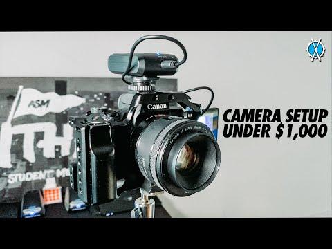 Best budget camera setup for videos! (Under $1,000)