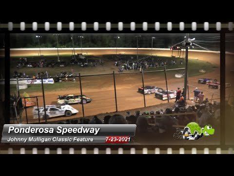 Ponderosa Speedway - Super Late Model feature - 7/23/2021 - dirt track racing video image