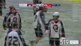 Junior B Lacrosse - Welland Generals vs Guelph Regals