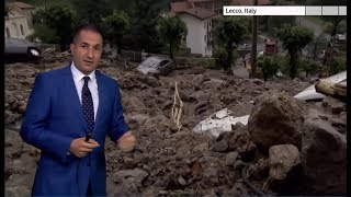 Weather Events 2019 - Typhoons and storms (Asia & Europe) - BBC News - 8th August 2019
