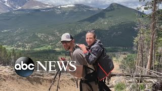 Hiking duo don't let disabilities stop them from climbing mountains