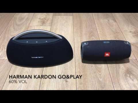 Klipsch -The One vs Harman Kardon -Go+Play -Best Bluetooth Speakers