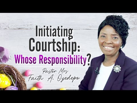 Initiating Courtship: Whose Responsibility?