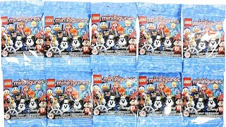 Disney Lego Mini Figures Series 2 Blind Bag Unboxing Toy Review