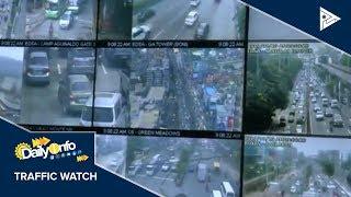 TRAFFIC UPDATE: Lagay trapiko sa mga pangunahing kalsada sa Metro Manila