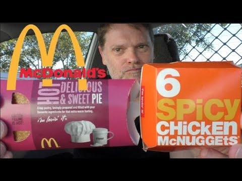 New McDonalds Spicy Nuggets and Custard Pie Review - UCGXHiIMcPZ9IQNwmJOv12dQ