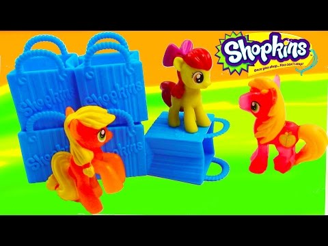MLP Shopkins 5 Pack Mystery Surprise Blind Bag My Little Pony Toy Review Opening - UCelMeixAOTs2OQAAi9wU8-g